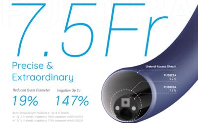 Pusen Uscope Mini – 7,5 Fr. disposable flexible ureterorenoscoop