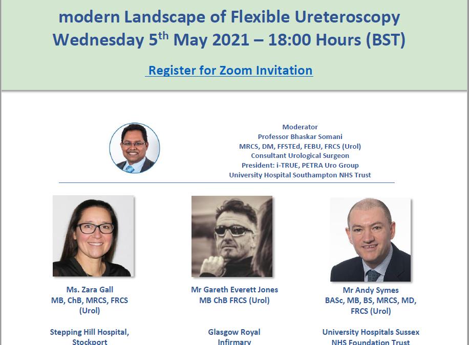 Webinar: Modern Landscape of Flexible Ureterorscopy